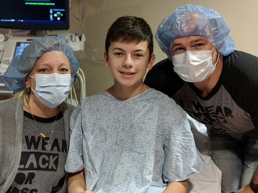 Ross before surgery!