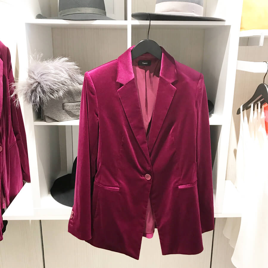 Electric Pink Jacket | K. Renee