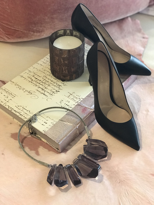 Heels and accessories