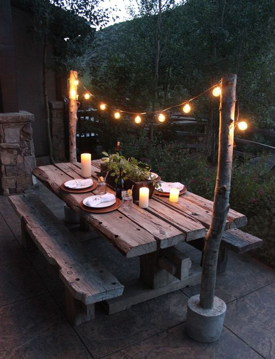 Plan Some Special Nighttime Ambiance