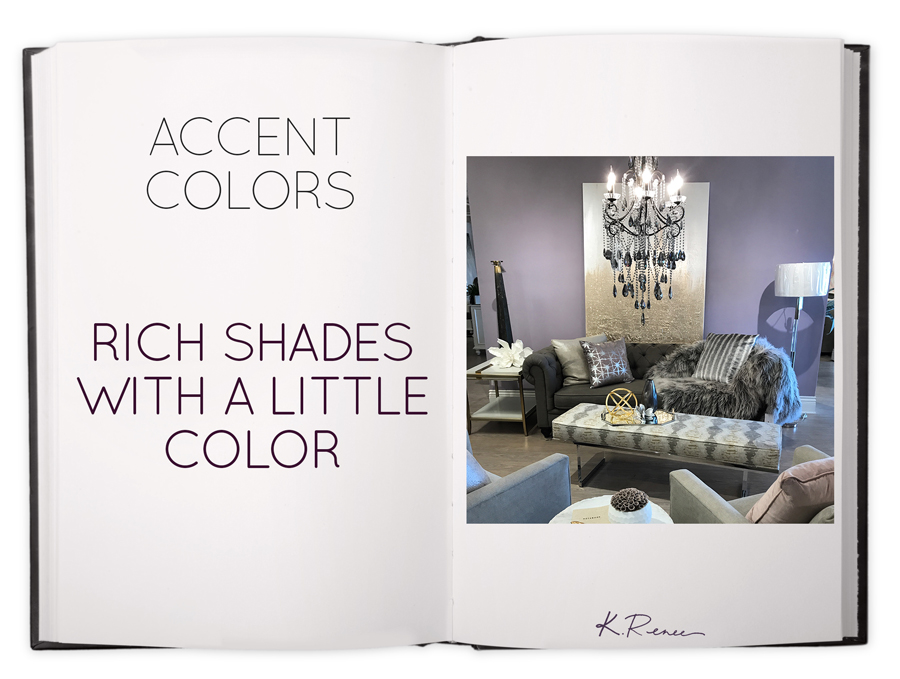 Rich Shades For Accent Colors