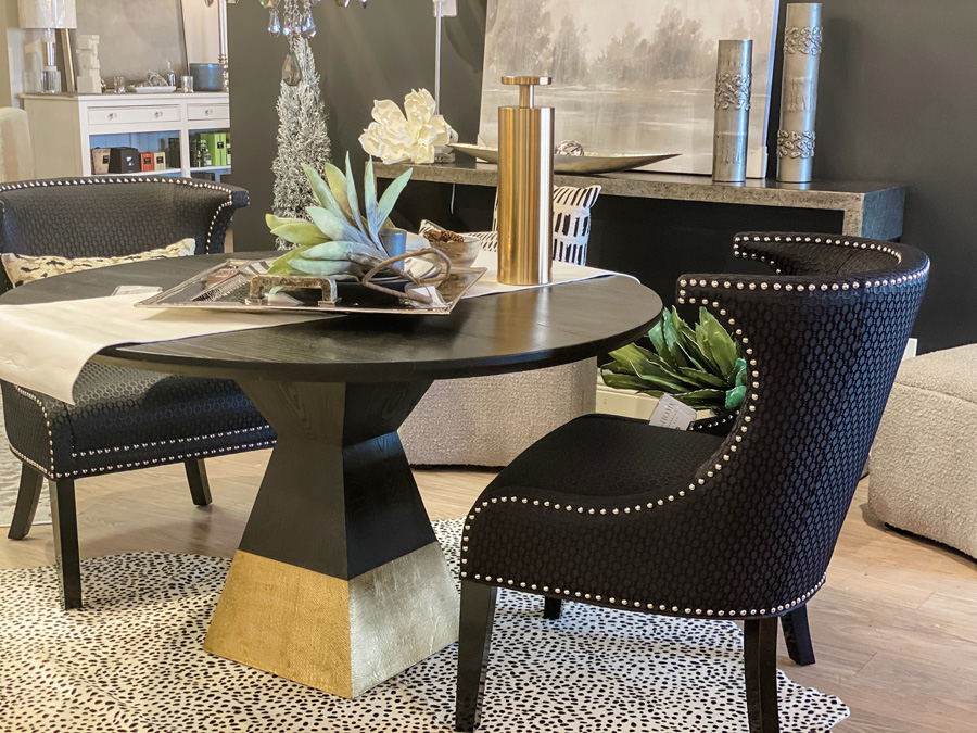 sculpturally dynamic table